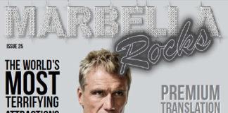 COVER MARBELLA ROCKS MAGAZINE OCTOBER 2016