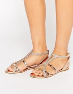 skinted sandals