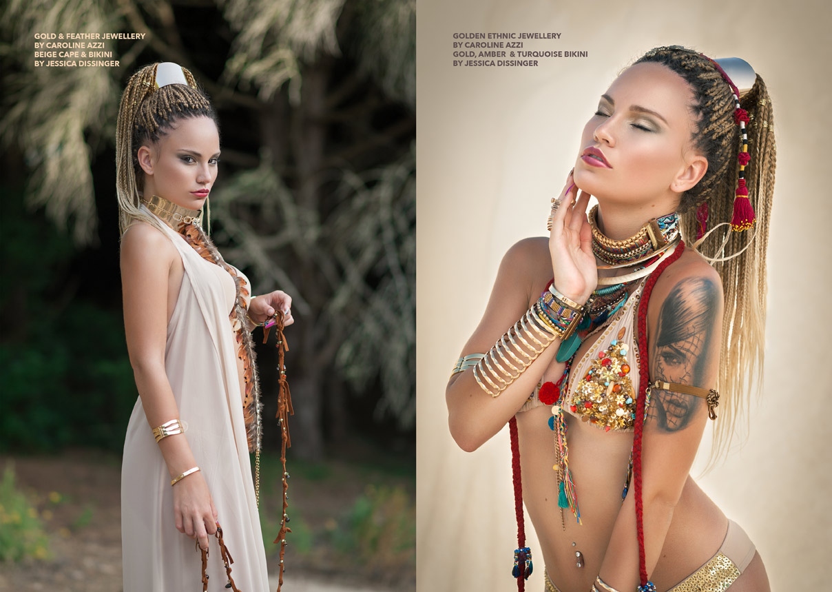 caroline azzi fashion shoot