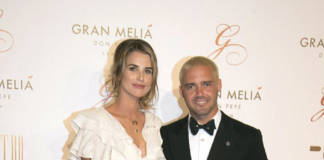 Irish model Vogue Williams and 'Made In Chelsea' star James Matthews are putting on even more stomach churning PDA's
